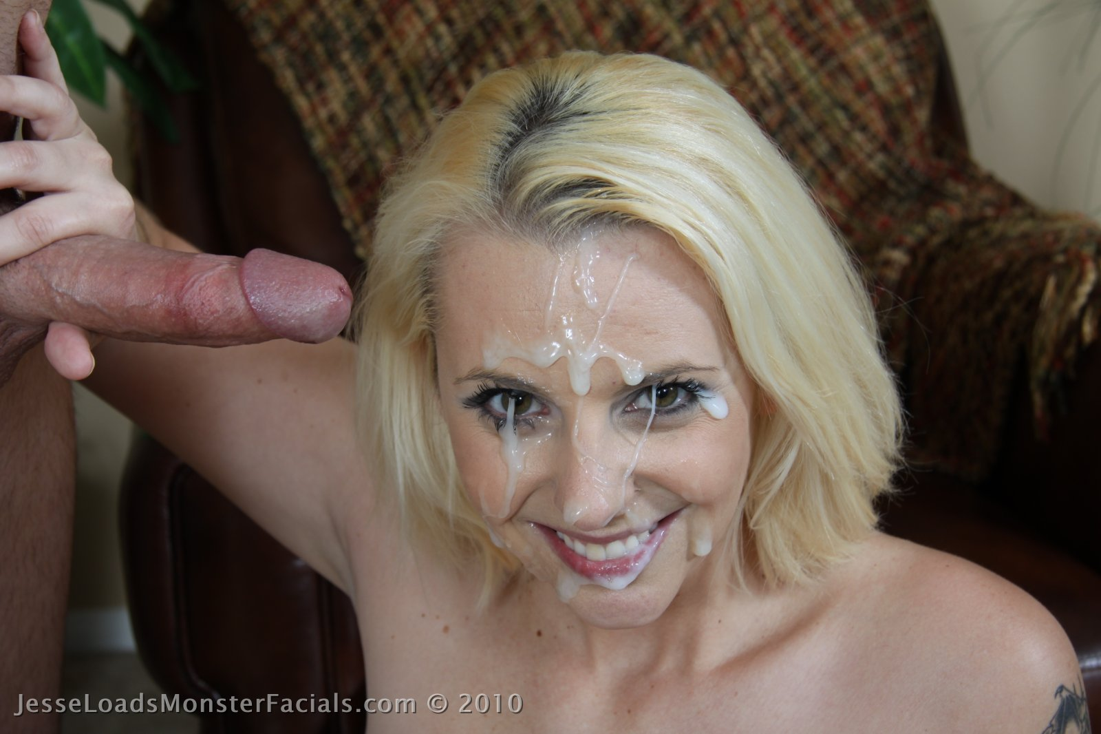 Jesse Loads Monster Facials Huge Of Real Cum All Over